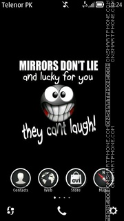 Mirror theme screenshot