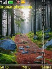 Forest nature hd theme screenshot