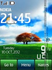 Windows nature digital theme screenshot