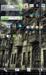 HDR Street Android Theme theme screenshot