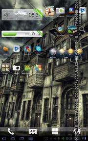 Скриншот темы HDR Street Android Theme