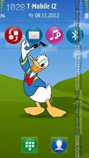 Скриншот темы Donald Duck 20
