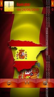 Spain theme screenshot