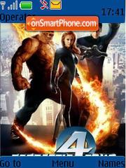 Fantastic 4 theme screenshot