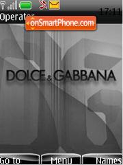 Dolce Gabbana 02 theme screenshot