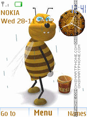The bee Gives Honey By ROMB39 theme screenshot