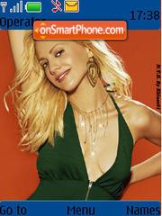 Скриншот темы Brittany Murphy