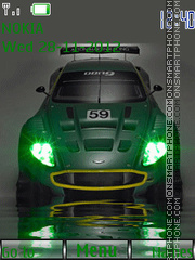 Скриншот темы Sport Car G By ROMB39
