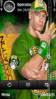 John Cena theme screenshot