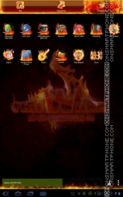Firework 01 tema screenshot