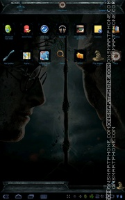 Harry Potter 11 theme screenshot
