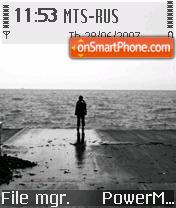 Alone 05 theme screenshot