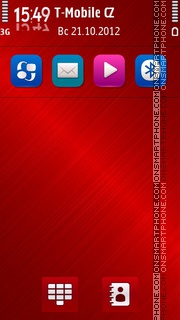 Just Red es el tema de pantalla