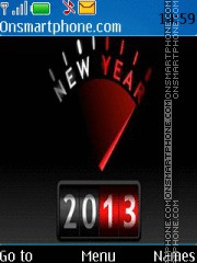 2013 Year theme screenshot