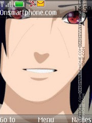 Uchicha Itachi tema screenshot