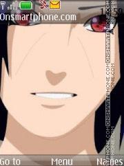 Скриншот темы Uchicha Itachi