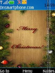 Merry Christmas 2023 theme screenshot