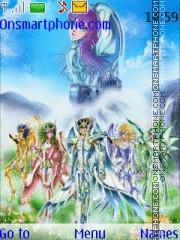 Saint Seiya Divino theme screenshot