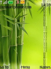 Скриншот темы Bambus