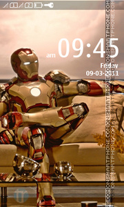 IronMan 04 theme screenshot