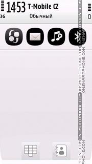 Black White 5th theme screenshot