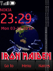 Iron Maiden By ROMB39 tema screenshot