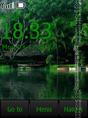 Summer Landscape By ROMB39 theme screenshot