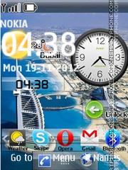 Dubai smartphone dual theme screenshot