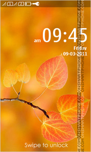 Beautiful Autumn 01 theme screenshot