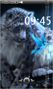 Leopard 03 theme screenshot