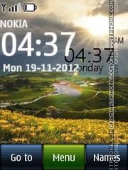 Sunrise Digital 01 theme screenshot