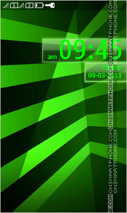 Green Line theme screenshot