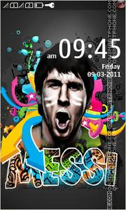 Lionel Messi 04 theme screenshot