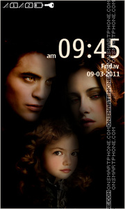 Twilight Saga 2 theme screenshot