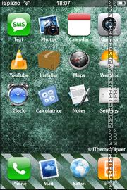 Скриншот темы Nature Abstract 01