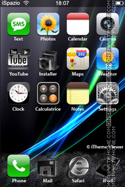 BlackVista 01 theme screenshot
