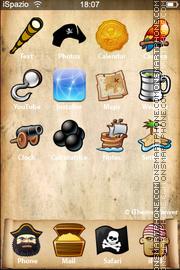 Pirate Theme theme screenshot