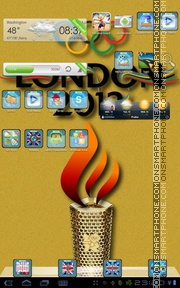 Olympic Games 01 theme screenshot