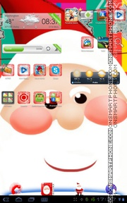 Santa Claus 05 theme screenshot
