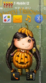 Happy Halloween 13 theme screenshot