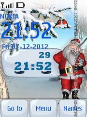 Our Friend Santa By ROMB39 theme screenshot