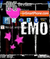 Emo 06 theme screenshot