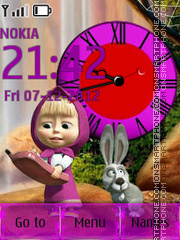Masha and the Bear By ROMB39 theme screenshot
