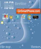 Скриншот темы Bottle