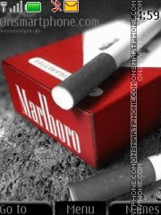 Marlboro theme screenshot