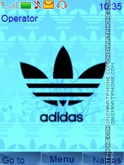Adidas Theme theme screenshot