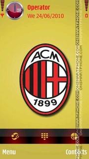 AC-Millan Logo theme screenshot