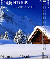 High-Snow theme screenshot