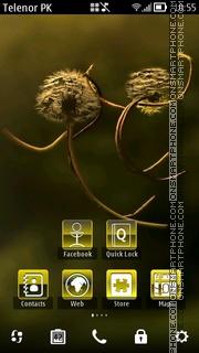 Golden Glexy theme screenshot