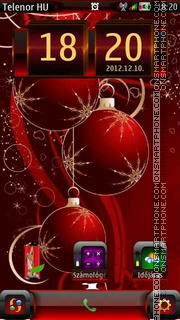Christmas theme screenshot
